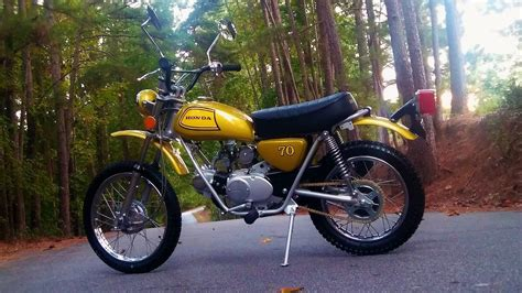 Honda Sl70 by Restored Honda Sl70 1973 Photographs At Classic Bikes