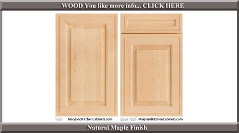 kitchen cabinet door finishes maple door