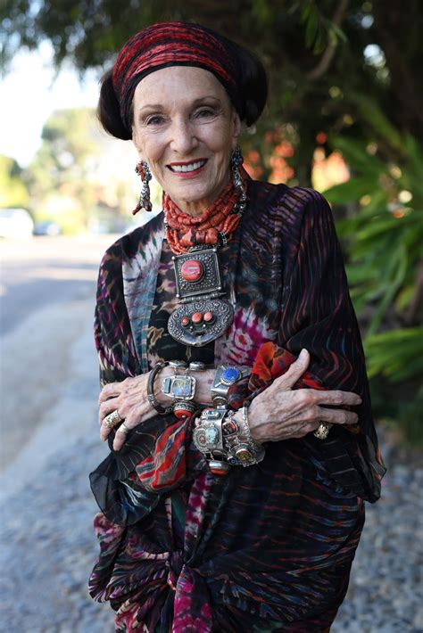 bohemian style clothing for older women quot never do when you can overdo quot advanced style