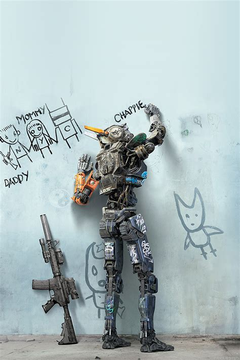 wallpaper for iphone 5 art freeios7 ak58 chappie robot art film poster parallax
