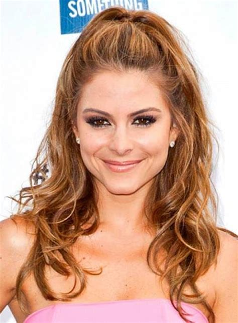 ponytail haircut for short layers front an top best 20 half ponytail ideas on pinterest