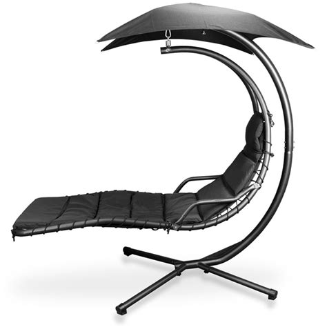luxuria garden swinging helicopter lounger swing chair
