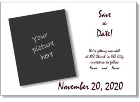 save the date templates save the date postcards save the