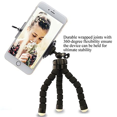 ailun iphone tripod tripod mount stand phone holder small light universal for iphone x xs xr xs
