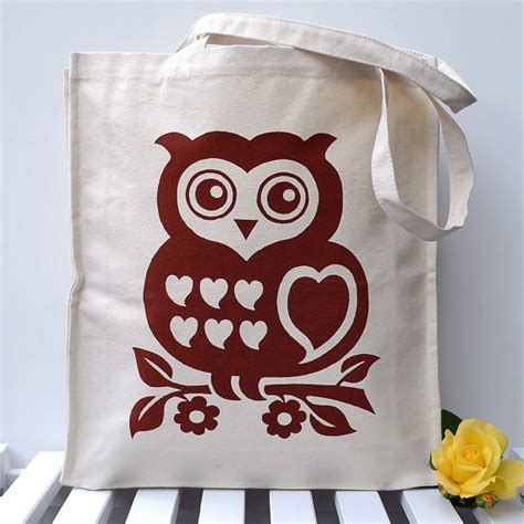Totebag Owl Family By Bellezzeshop 35 best owls images on owls owl and owl