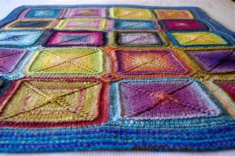knitting pattern rug squares as 25 melhores ideias de knit squares blanket no pinterest