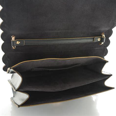 Fendi Kan I Shoulder Bag fendi calfskin studded kan i shoulder bag black 189157