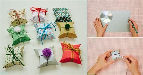 Handmade Gift Box Tutorial - diy beautiful square pillow gift box tutorial home