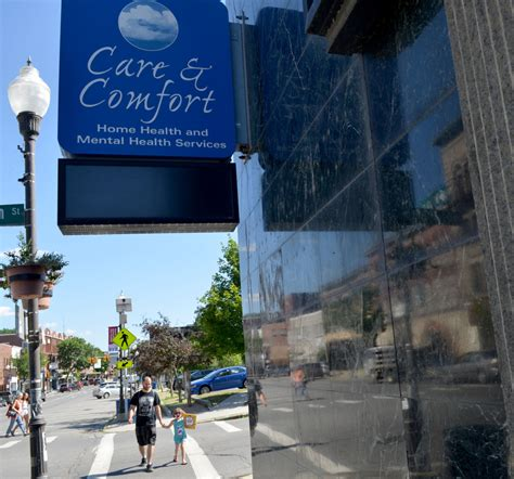 care and comfort waterville maine waterville business community sees smaller impact of