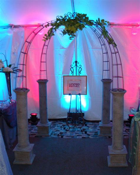 wedding arch omaha arch wrought iron united rent all omaha