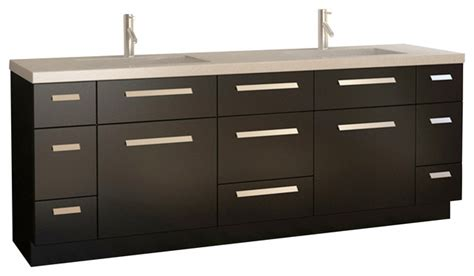 design element bathroom vanities design element design element moscony 84 quot modern
