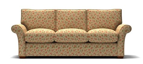 sofa with floral pattern fabric stl illustrator