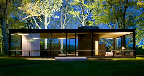 philip johnson s glass house golden section analysis on behance