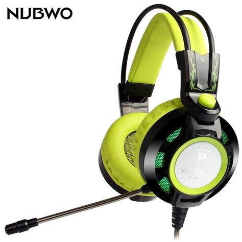 Keenion Gaming Headset K6 nubwo k6 stereo ear gaming headband with mic led