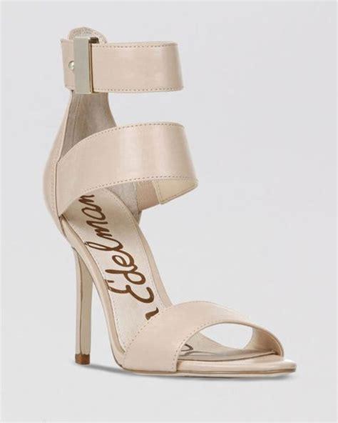 sam edelman high heels sam edelman sandals addie high heel in beige buff