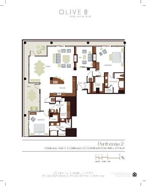 insignia seattle floor plans olive 8 penthouse two urbancondospaces