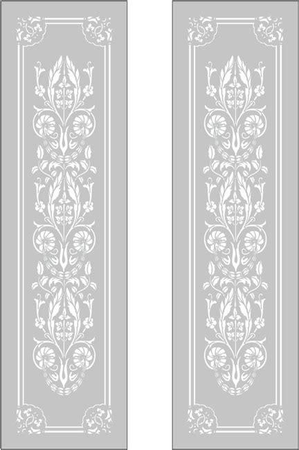 Owen - Victorian Etched Glass Door Entry - Knutsford