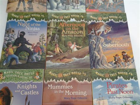 Magic Tree House 7 by Magic Tree House Lot Of 14 Paperbacks 2 To 7 10 12 13 15 16 18 26 27 No Frt Children