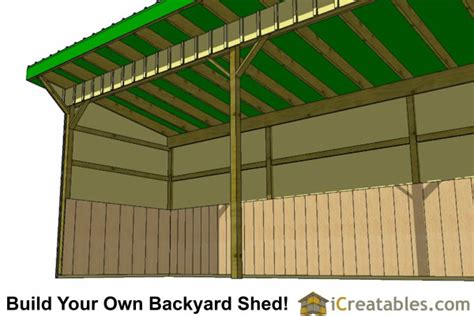 8 X 24 Shed by 8x24 Run In Shed Plans The Plans And Start