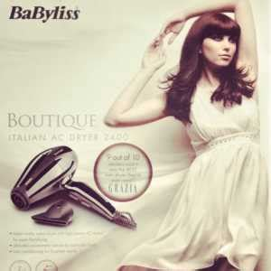 Babyliss Boutique Hair Dryer Review review babyliss boutique italian ac hair dryer 2400