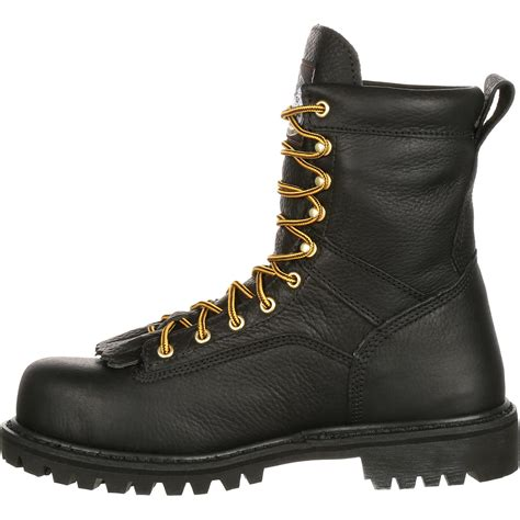 lace to toe work boots steel toe waterproof lace to toe work boot gbot078