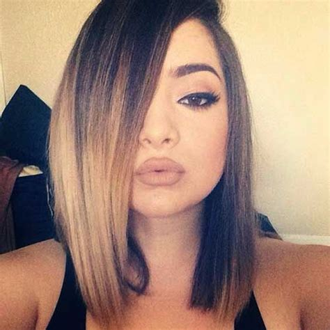 black hair color with a line cut 2015 23 hottest ombre bob hairstyles latest ombre hair color