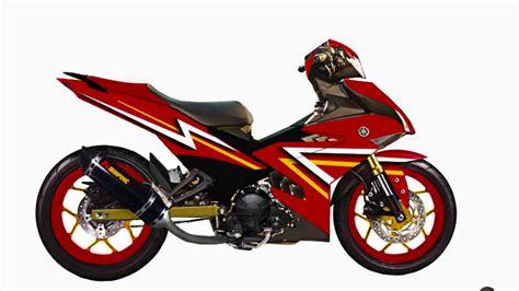 Part Modifikasi Motor by Top Modifikasi Motor Mx King 150 Terbaru Modifikasi