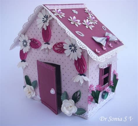making dolls houses cards crafts kids projects recycling craft doll house making tutorial