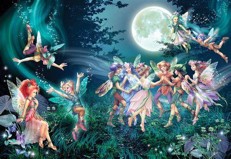 Home Artwork Decor fairies and elves dancing photograph by zorina baldescu