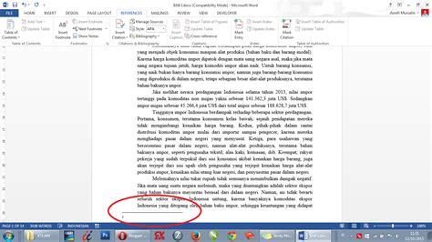 cara membuat catatan kaki pada microsoft word cara membuat catatan kaki pada ms word 2013