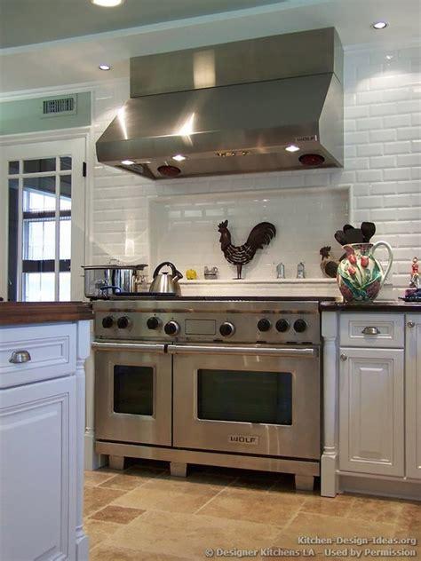 range ideas kitchen white kitchen with professional range home design ideas