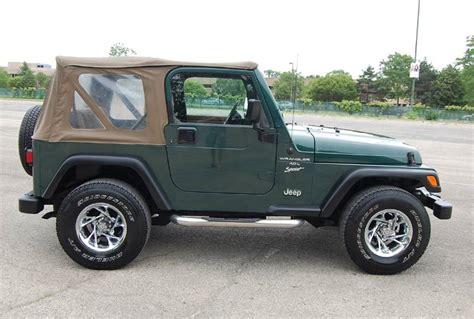 1999 Jeep Wrangler Sport 1999 Jeep Wrangler Sport 4 0l
