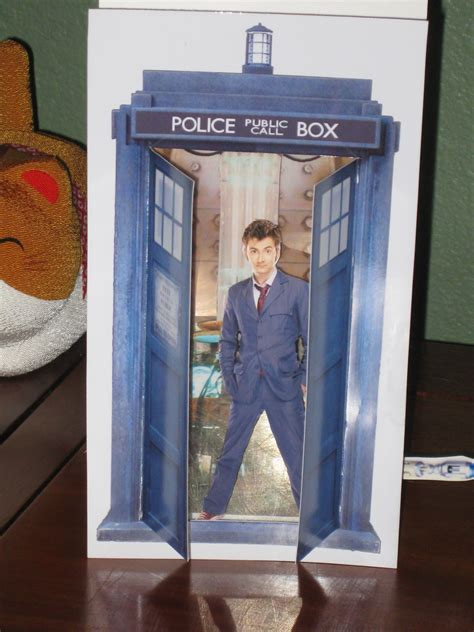 tardis birthday card template 3 d tardis card template and by rudeandginger