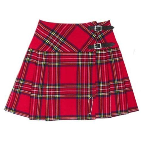 hm scottish mini skirt royal stewart tartan