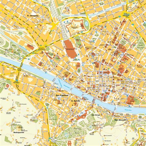 map of florence italy map florenz toscana italy maps and directions at map