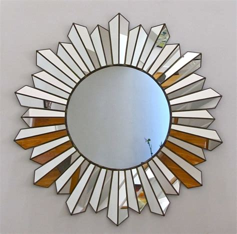 silver sunburst mirror wall decor tyres2c