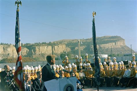 Billings Montana Records Conservation Tour Of Western States Montana Billings President Kennedy Addressing
