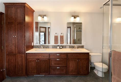 Bathroom Vanity With Linen Cabinet Cabinets Surprising Bathroom Linen Cabinets Ideas Providence Linen Cabinet Linen