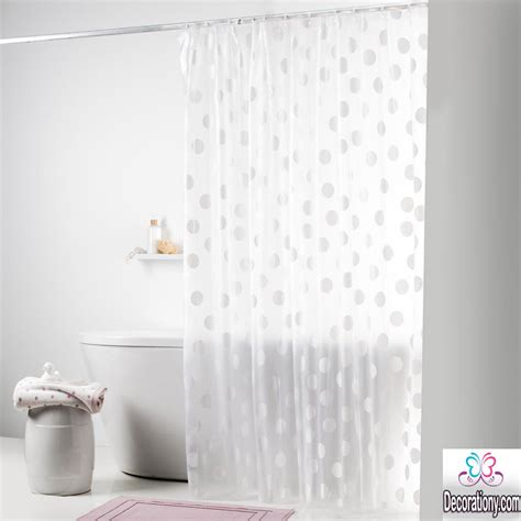 using shower curtains as drapes amazing bathroom curtains ideas give the place more beauty