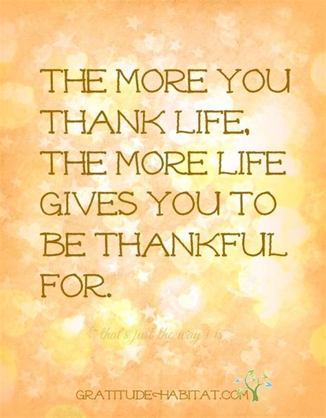 107 best images about be thankful quotes on the more you thank the more gives you to be