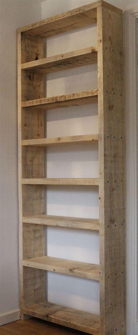 estantes de paletes de madeira reciclados fotos ideias