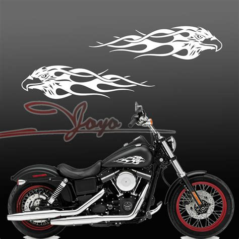 Decal Motor Yamaha X Ride American Flag moto motorcycle decals motorcycle eagle gas tank decal harley sporter dyna touring