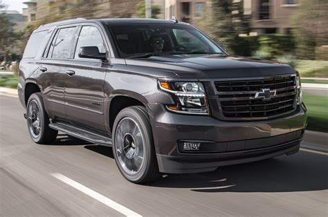 first chevy 2018 chevrolet tahoe rst performance edition first test