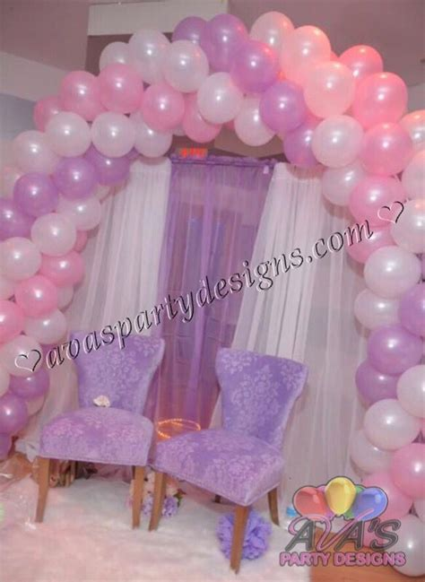 Pink And Purple Baby Shower Theme by 42 Best Balloon Arches Images On Bows Arch