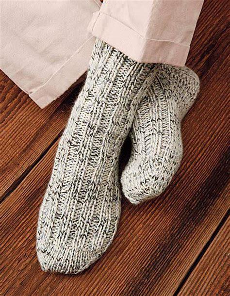knitting pattern thick socks woodsman s thick socks pattern knitting patterns and