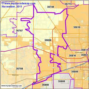 zip code map of 35806 demographic profile residential