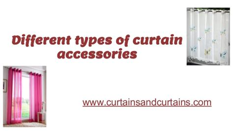 types of stage curtains different types of curtain accessories