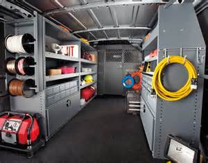 work truck shelving 7 factors to consider when upfitting cargo vans articles