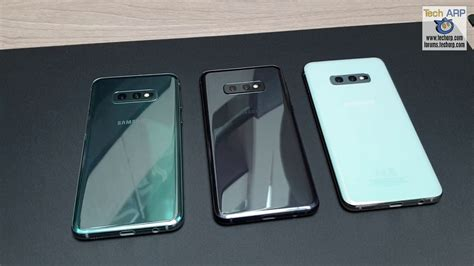 the samsung galaxy s10 colour model comparison