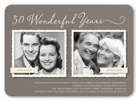 exle 50th wedding anniversary newspaper announcements anniversary quotes for your husband shutterfly